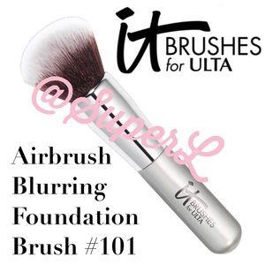2/$15 IT Airbrush Blurring Foundation Brush 101